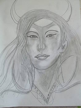 Samarai Warrior Woman by Sharyn Winters