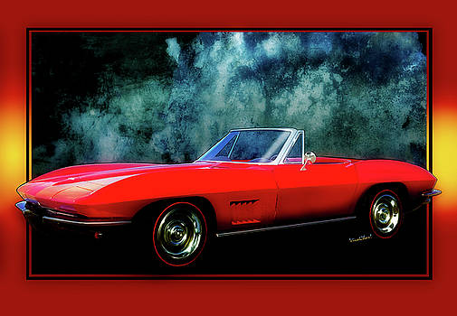Sammy's 67 Stingray Convertible by Chas Sinklier