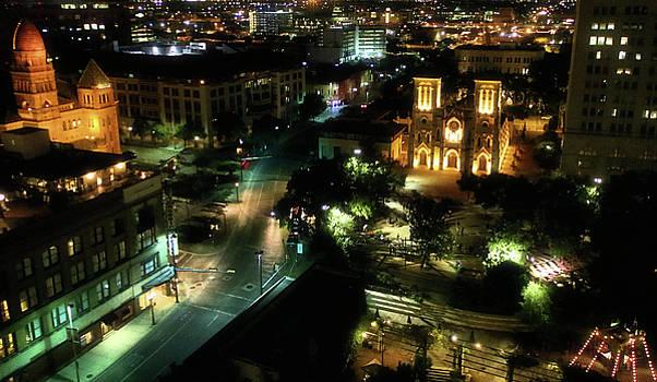San Antonio 11, cathedral by Robert McCubbin