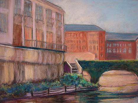 San Antonio Riverwalk by AnnE Dentler