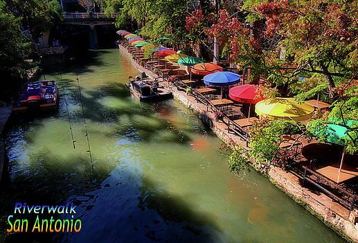 San Antonio Riverwalk by Robert McCubbin