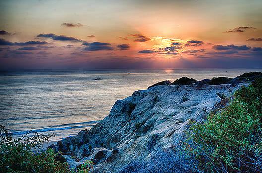 San Clemente State Beach Sunset - California by Bruce Friedman