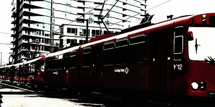 Linda Knorr Shafer - San Diego Trolley