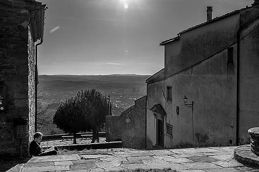 San Francesco Monastery - Fiesole, Italia. by Sonny Marcyan