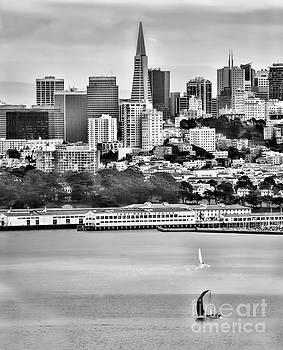 Chuck Kuhn - San Francisco Bay BW
