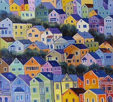 San Francisco by Mikhail Zarovny