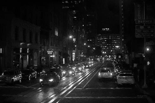 David Gordon - San Francisco Night I BW