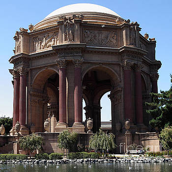 Wingsdomain Art and Photography - San Francisco Palace of Fine Arts 5D18096 square