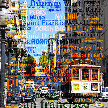 Wingsdomain Art and Photography - San Francisco Places To Visit Cablecar on Powell Street 7d7261sq
