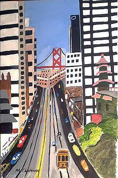 San Francisco Scene by Michael Chatman