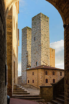 San Gimignano by Evgeni Dinev
