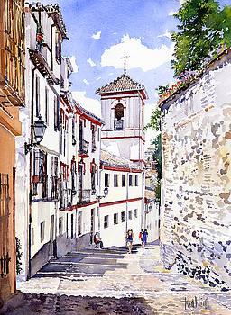 San Gregorio Granada by Margaret Merry