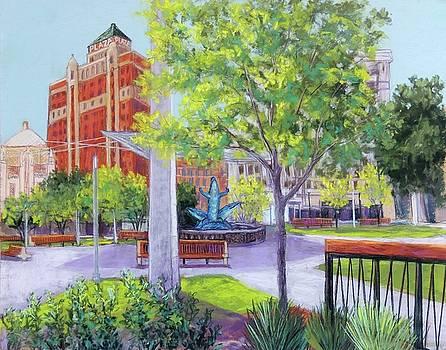 San Jacinto Plaza by Candy Mayer