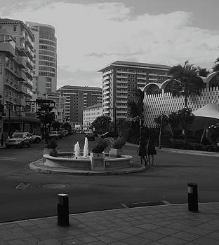 San Juan Fountain II by Anna Villarreal Garbis