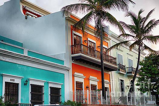 San Juan Street Colors by George Oze