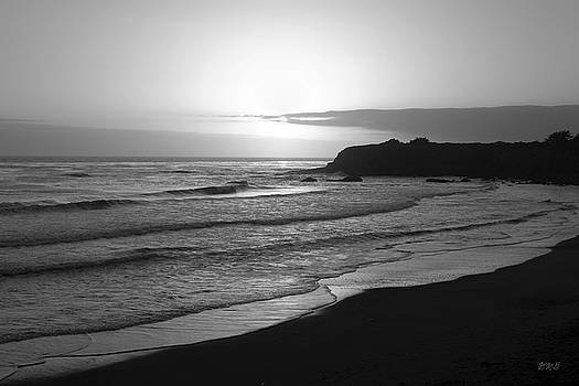David Gordon - San Simeon Sunset BW I