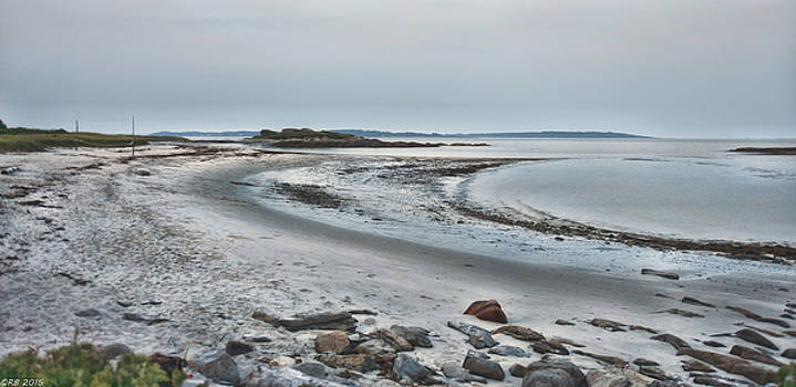 Sand Along the Shoreline by Richard Bean