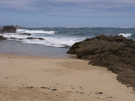 Sand and Surf San Juan by Anna Villarreal Garbis