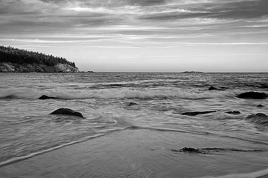 Sand Beach - Acadia - Maine by Geoffrey Coelho