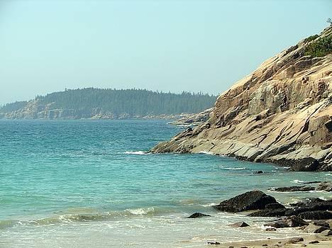 Sand Beach Acadia National Park by Belinda Dodd
