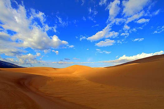 Sand Dune Clouds by Scott Mahon