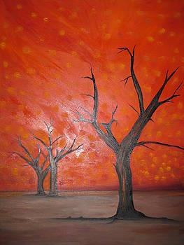 Sand Dunes left panel by Alisa Ivanova