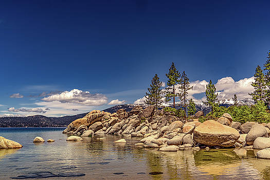 Sand Harbor in the Afternoon by Janis Knight