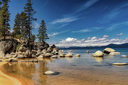 Sand Harbor on a Spring Afternoon by Janis Knight
