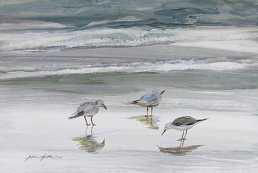 Sandpipers by Julianne Felton