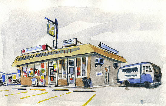 Sandwich Shop by Ashley Lathe