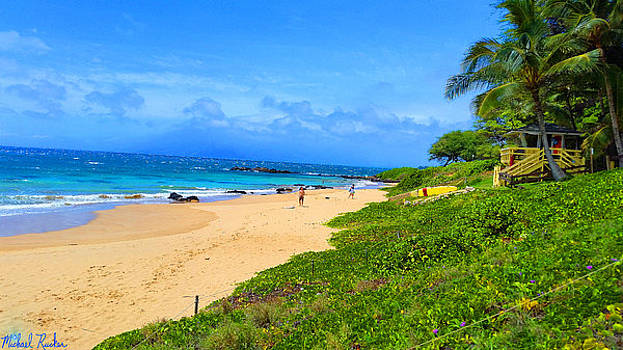 Sandy Beaches of Maui by Michael Rucker