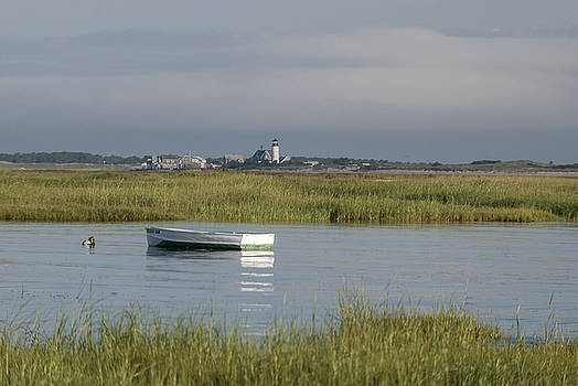 Sandy Neck Light by Lee Fortier