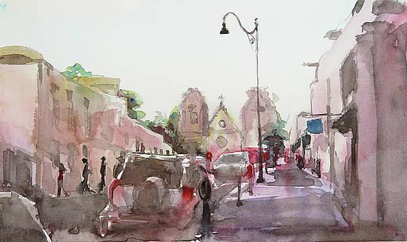 Sanfransisco Street by Becky Kim