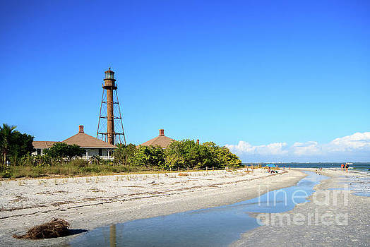 Sanibel Lighthouse by David Lane