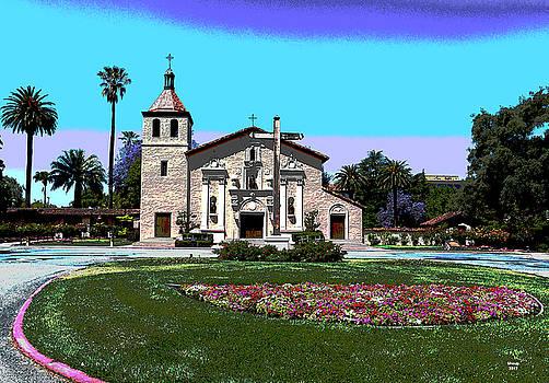 Santa Clara University by Charles Shoup