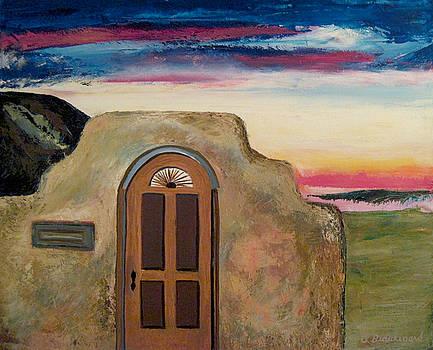 Santa Fe Adobe II by Richard Beauregard