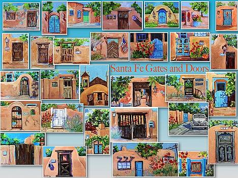 Santa Fe Collage by Suzy Pal Powell