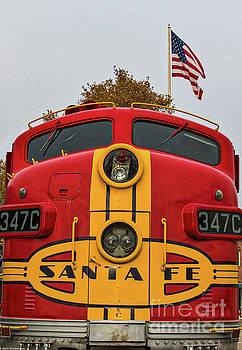 Santa Fe Railroad by Mitch Shindelbower