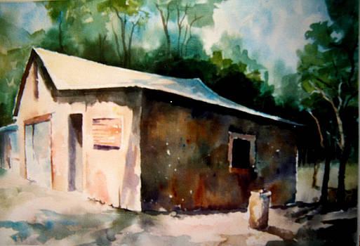 Santa Fe Shack by Bill Meeker