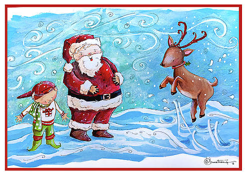 Santa Smiles by Denise Armstrong