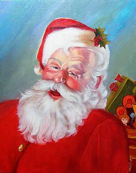 Santa by Usha P