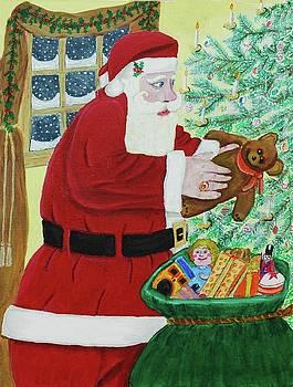 Santas Bag by Gordon Wendling