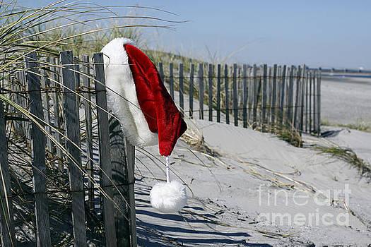 Santa's Beach by Denise Pohl