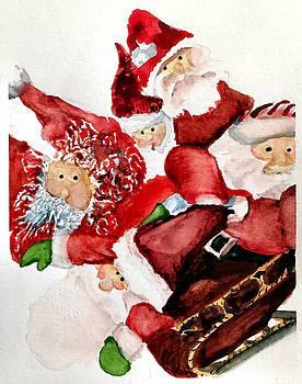 Santas by Dana Patterson
