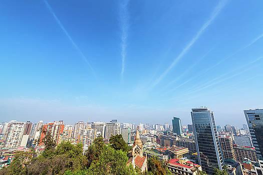 Santiago and Blue Sky by Jess Kraft