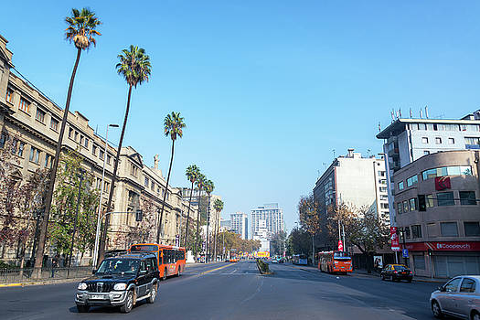 Santiago, Chile Street View by Jess Kraft