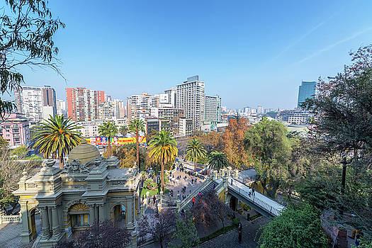Santiago de Chile Cityscape by Jess Kraft
