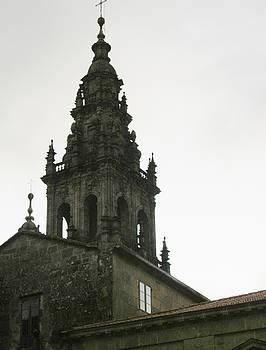 Santiago de Compostela Steeple by Halle Treanor