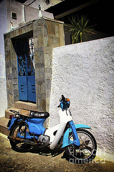 Santorini Blues by Kasia Bitner
