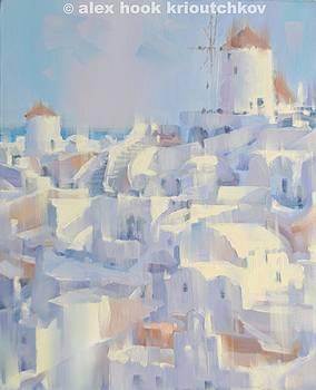 Santorini II by Alex Hook Krioutchkov